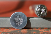 Supply Guy 7mm Paisley Metal Punch Design Stamp K-20