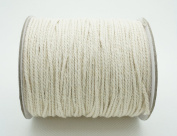 2mm Natural White Cotton Twisted Cord Craft Macrame Artisan String
