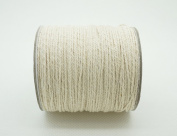 1mm Natural White Cotton Twisted Cord Craft Macrame Artisan String