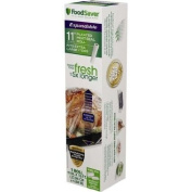 FoodSaver 28cm x 4.9m Expandable Heat-Seal Roll With Side Pleats Expand Up to 36cm