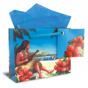 Hawaiian Mini Gift Bag 6 Pack Vintage