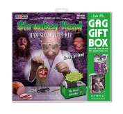 Shrunken Head Gag Wrap Gift Box