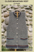 Cloud Mountain Vest to Crochet - Oat Couture Crocheting Pattern PH604