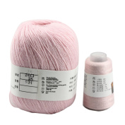 Celine lin Super Soft Pure Cashmere knitting Yarn 70g for Hand & Machine Knitting,Pink