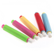 NO:1 5pcs Office School Chalk Holders Chalk Covers