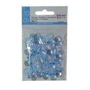 Artemio 11060122 20 Plastic Dummies Blue