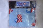 American Heart 30 by 30 Blue Baby Fleece Blanket