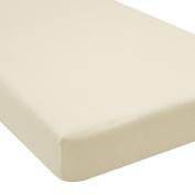 Greenbuds Ivory Organic Cotton Crib Sheet