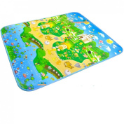 MaBoShi 71*150cm One-side Extra Large Thickness Baby Crawling Mat