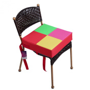 Lalawow Sturdy Oxford Dismountable Adjustable Kids Dining Chair Booster Cushion Quick Wipe Clean Baby Children Seats
