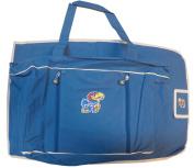 Kansas Jayhawks Baby Nappy Travel Bag & Changing Pad