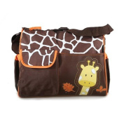 Yacool ® Multifunctional Baby Nappy Nappy Changing Bag Mummy Handbag Giraffe Pattern