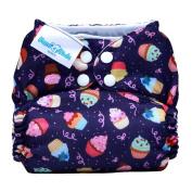 Mama Koala One Size Pocket Washable Adjustable Cloth Nappy,Cupcakes