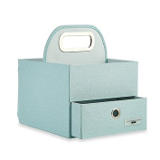 JJ Cole® Nappy and Wipes Caddy in Blue