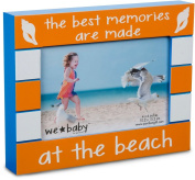 Pavilion Gift Company We Baby The Best Memories are Made at The Beach Picture Frame, Orange, 15cm x 10cm
