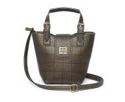 GINSIO Women's PU Peather Casual Simple Style Shoulder-handbags cross-body-handbags