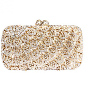 Digabi Heart Pattern Women Crystal Evening Clutch Bags