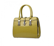 GINSIO Women's PU Peather Casual Simple Style Shoulder-handbags