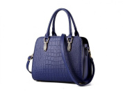 GINSIO Women's PU Peather Shoulder-handbags