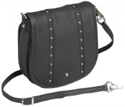 GTM-18 Simple Bling Black Concealment Purse