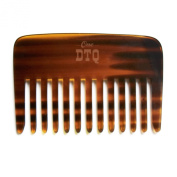 OneDTQ Handcrafted Beard and Hair Comb - Pocket-size - No Static or Snagging - 100% Natural - Premium Quality