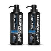 Elegance Plus Shaving Gel 500ml (2 Pack)