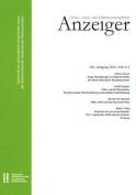 Geistes-, Sozial-Und Kulturwissenschaftlicher Anzeiger 150. Jahrgang, Heft 1+2 2015 [GER]