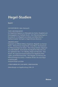 Hegel-Studien. Band 1 (1961) [GER]