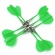 ZUINIUBI 10 X Magnetic Dart Darts for Two-Sided Magnetic Dart Board Kids Toy