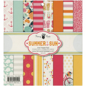 Fancy Pants Designs 2552 Summer Sun Paper Pad for Scrapbooking