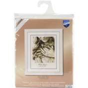 Vervaco Yes I Do Wedding Record on Aida Counted Cross Stitch Kit, 22cm by 29cm