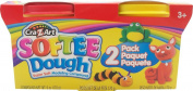 Cra-Z-Art Softee Dough, Multi Language, 90ml Cans, 2 Pack