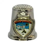Souvenir Thimble - South Dakota - SD