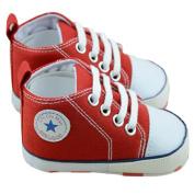 Dealzip Inc® Baby Toddler Infant Boy Girl Sneakers Canvas Sneaker for Prewalker