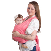 Dazone® Adjustable Infant Newborn Baby Sling Carrier Wrap Rider Backpack Pouch Ring Natural Cotton Original for Babies From Birth to 16kg -Fashion and Comfortable