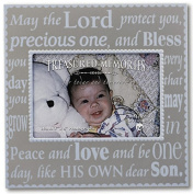 Melco Greetings Baby Boy Baptism Picture Frame