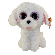 "New TY Beanie Boos Cute PIPPIE the White Bichon Dog Plush Toys 6"" 15cm Ty Plush Animals Big Eyes Eyed Stuffed Animal Soft Toys for Kids Gifts"