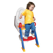MobileSharpToilet Potty Trainer Seat Chair Toddler Kid Ladder Step Up Training Stool