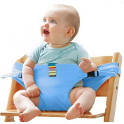 The Washable Portable Travel High Chair Booster Baby Seat with straps Toddler Safety Harness Baby feeding the strap (6 Colour)