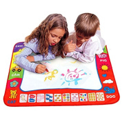 Christmas Gift, Tonsee® Children's Drawing Toys Mat (80cmx60cm) Magic Pen Educational Toy 1 Mat+ 2 Water Drawing Pen