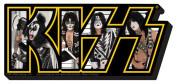 Kiss Photo LOGO - Chunky Magnet
