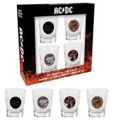 AC/DC Shotglasses (Set of 4)