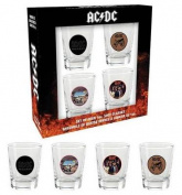 AC/DC Shotglasses (Set of 4)