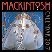 Charles Rennie Mackintosh wall calendar 2017