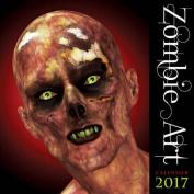 Zombie Art Wall Calendar 2017