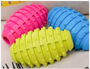 Ryedge(TM)Fashion Cute Pet Cat Dog Chew Toy TPR Grenade Shape Toys Pet Supplies Funny Time With Your Baby Pet