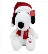 Holiday Musical Snoopy Plush Large 50cm