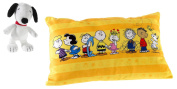 Peanuts 519565 Cuddly Cushion Set 1, Black/White/Multi-Coloured