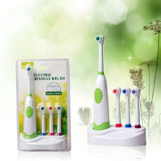 Rotation Type Electric Toothbrush 4 Colour Waterproof Type