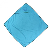 Baby Bath Cape Blue 75 x 75 cm